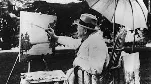 Winston Churchill was a Sunday painter. The important thing isn't whether he was any good, but that he thought painting was worth his time. You can't tell me that isn't a lesson museums are trying to teach.