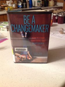 book cover: Be A Changemaker